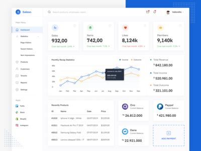 Sales Dashboard App