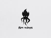 fire octopus logo