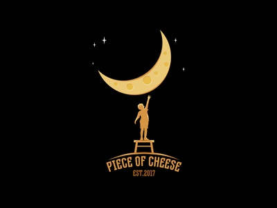 Piece of cheese inspiration design branding vector silhouette logo
