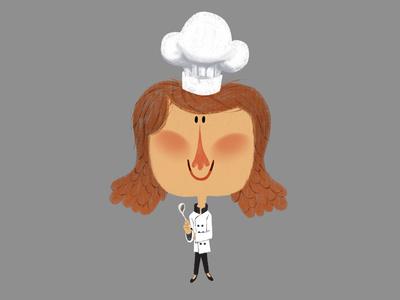 Little Girl Chef