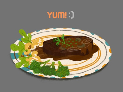 Steak & Macaroni Salad