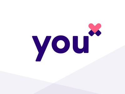 You X Ventures Logo Redesign wordmark agency icon rebrand branding logo