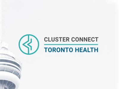 Cluster Connect Logo Design symbol medical healthcare agency icon rebrand branding logo