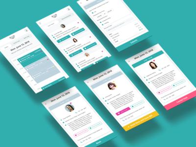 Quala Care - PSW App Design