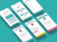 Quala Care - PSW App Design