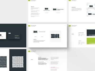 BM Architectural Design Logo Style Guide style guide brand guideline brand guide measurement illustrator symbol agency illustration vector icon branding rebrand logo bm bm logo