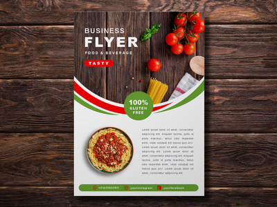 Food Flyer Template Vol 1