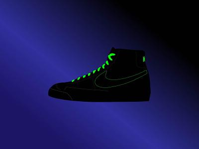 Nike Blazer UFO sneakerhead sneaker art space ufo sneakers blazer nike