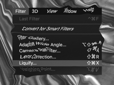 ⬆︎⌘ 𝗫 warp graphicdesign music spotify liquify playlist distortion