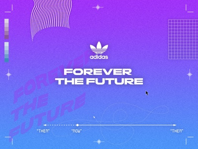 Forever the Future happylucky digital print future finishline adidas