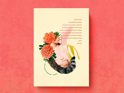 Rayden · Matemática de la carne typography collage diseño gráfico graphic design música music cartel poster