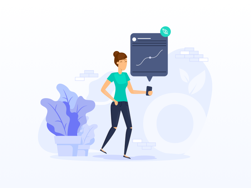 GROW Super Illustration Style invest investing investment users ux ui superannuation startup peoples on-boarding mobile illustration grow super grow fin-tech fintech finance