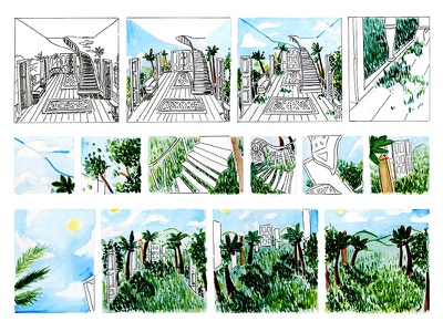 Small Stories, Comic #2 monthly comics series magazine f news nature anthology small stories writing pen watercolor illustration comics