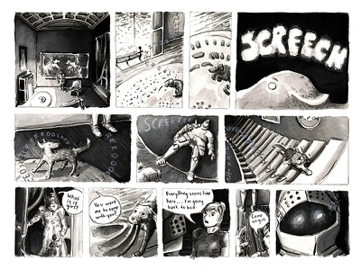 Small Stories, Comic #1 magazine f news ghost haunted house anthology small stories writing ink ink wash watercolor illustration comics