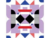 Kaleidoscope Poster Series 1, Poster 2