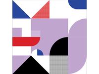 Kaleidoscope Poster Series 1, Poster 3