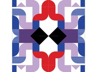 Kaleidoscope Poster Series 1, Poster 5