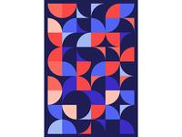 Geometric Poster Series 5, Poster 1