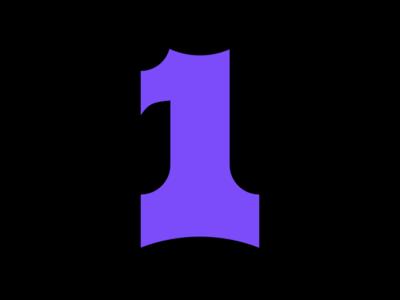 #36DaysofType - 1