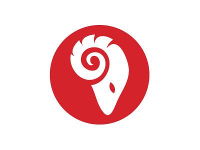 The Rampage Logo icon newspaper fresno identity logo design