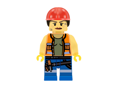 Gail: Lego construction worker construction worker gail lego