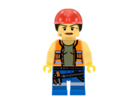 Gail: Lego construction worker