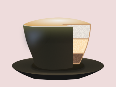 Coffeecake daily svg images cake cappuccino