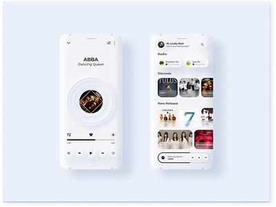Flosic - Floating Music App design app ux ui