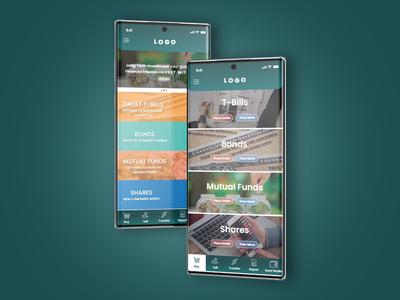 Wallet App design ui screen ios mobile app