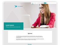 Job portal web page