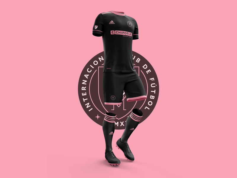 on sale 9a7d3 d95e3 Inter Miami CF - Jersey by Thomas Chamousset on Dribbble