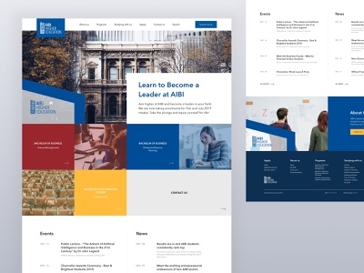 AIBI Higher Education courses college education ux ui