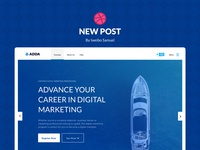 ADDA CASE STUDY design website web design illustration branding brand identity
