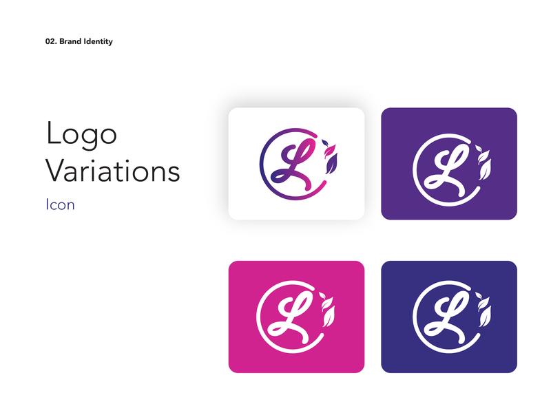 lozano logo variation typography fashion brand branding design branding logo brand identity