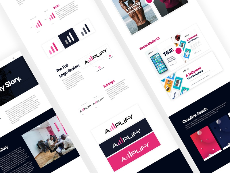 Agency Redesign Case Study Page digital agency website design web design website landing page design landingpage ui uidesign uiux agency