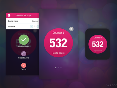 Tappy Count Apple Watch App