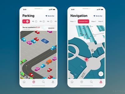 VisioMove Essential Indoor Wayfinding App Redesign