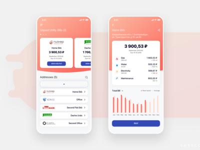 DeloBank Utility Bills Payment Dashboard