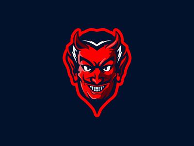devilman char artwork mascot graphic illustration forsale brand identity design logo