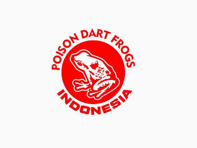 PDFI badgedesign branding brand vector char mascot graphic design logo dartfrog dart