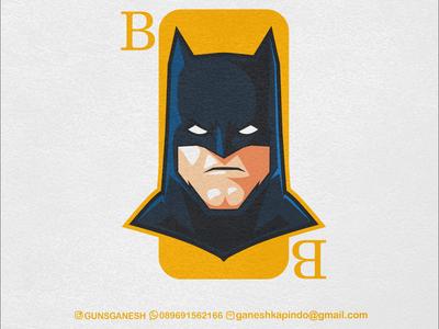 B for Ben Affleck (Batman)