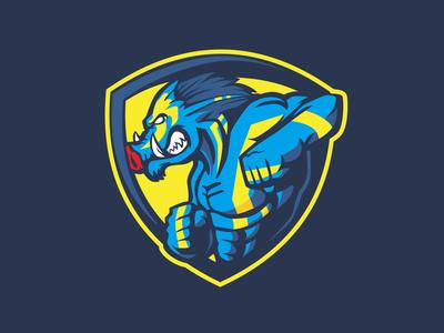 Warhog badge