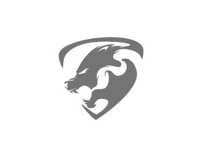 Wolf wolf badge logo animal dailylogo graphic vector branding badge mascot char illustration forsale identity brand design logo