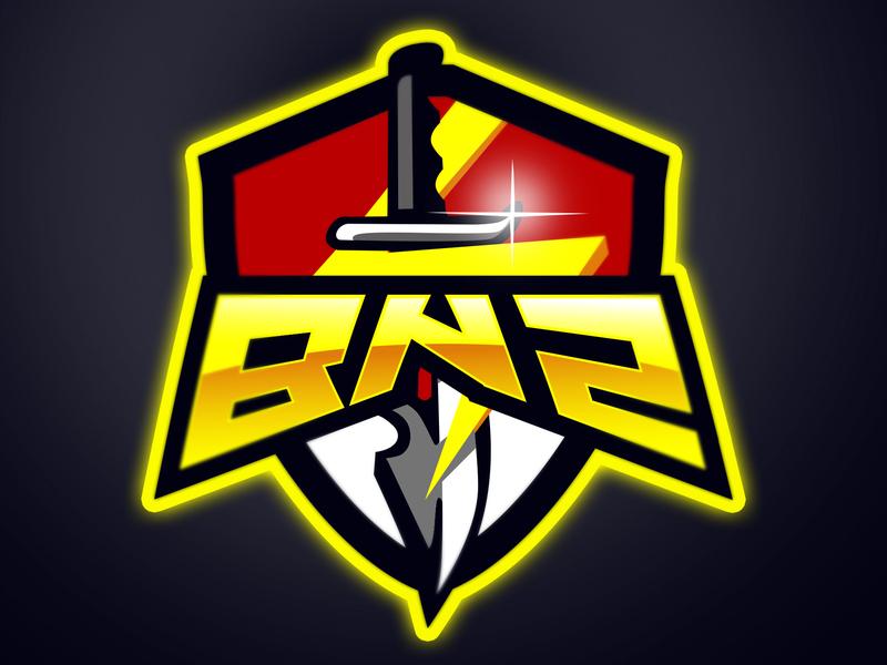 Bn2 team mobile legend esports logo badge logo vector badgedesign branding badge esport mascot graphic identity design logo