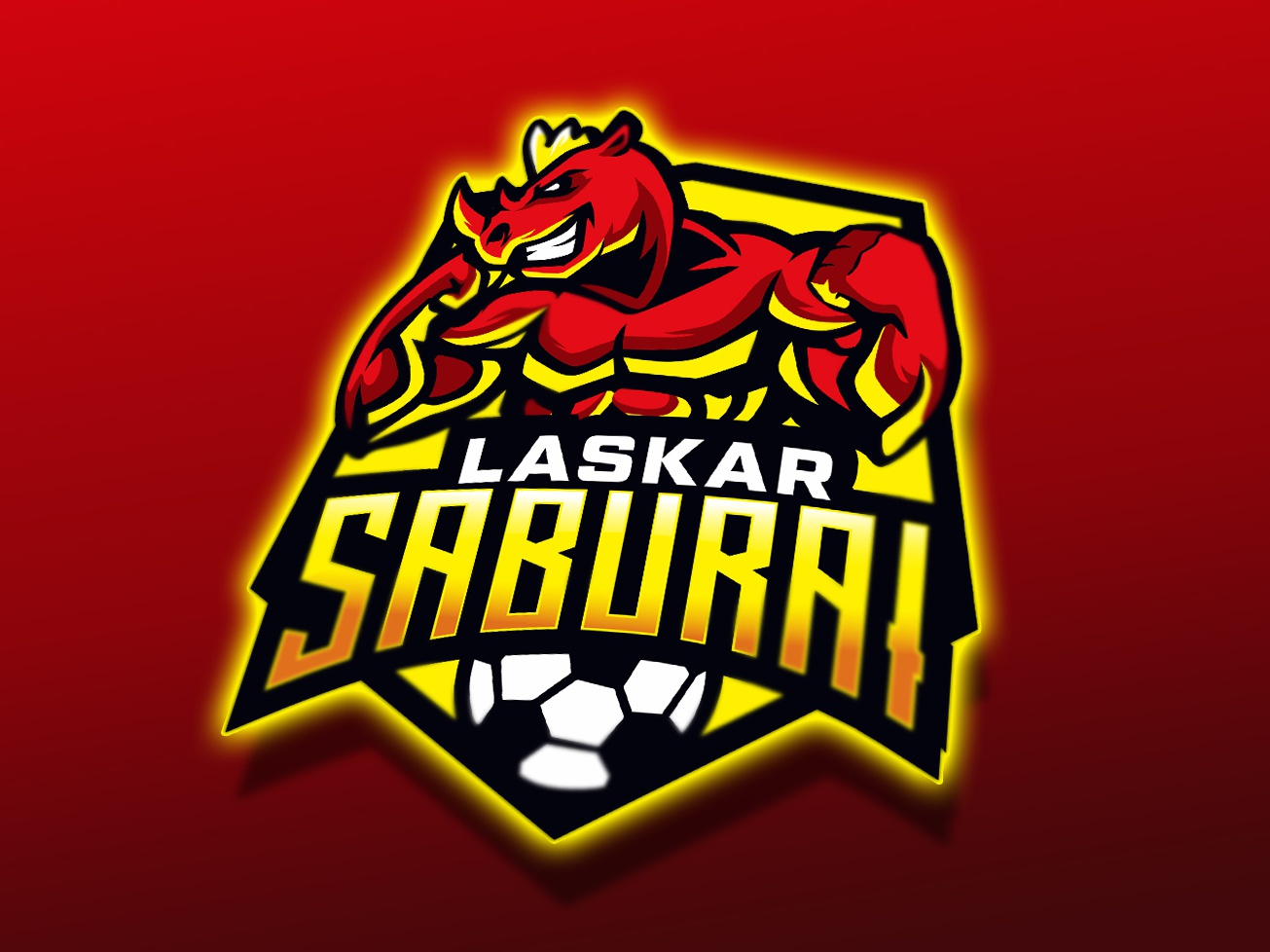 tribute to badak lampung FC dailylogo animal graphic badge logo badgedesign badge esport char mascot brand identity vector design logo soccer badge indonesia lampung liga1 football team