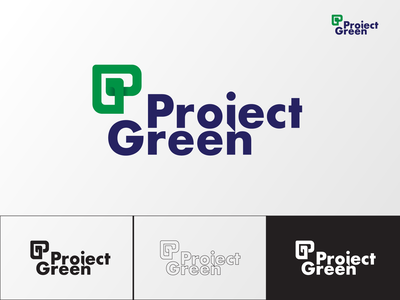 Green Project logo for redevlopment company green project green logo