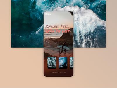 Surfers discover app concept