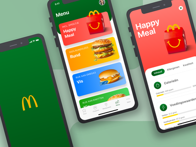 McDonalds App Redesign first post firstshot sketch productdesign ios concept redesign digitaldesign designer designchallenge mcdonalds app ux uiux ui