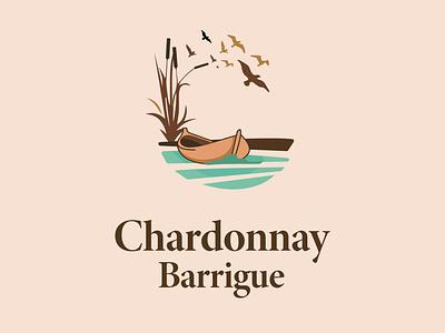 Chardonnay Barrique Wine label design wine label winery chardonnay chardonnay barrique chardonnay barrique wine