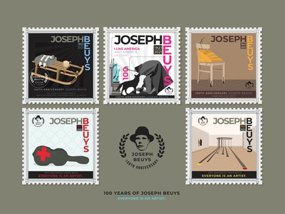 100 years of Beuys : art for everyone, and everyone is an artist beyus joseph beuys everyone is an artist everyone vector art artist design icon vector